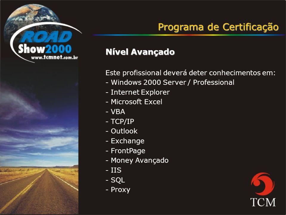 Programa de Certificação