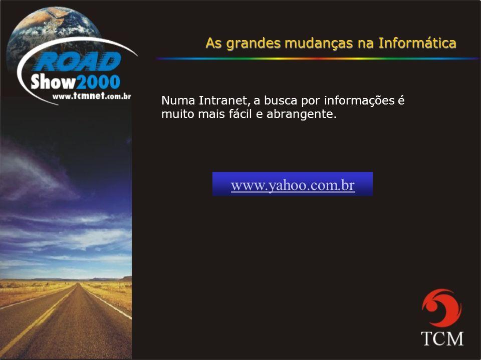 www.yahoo.com.br As grandes mudanças na Informática