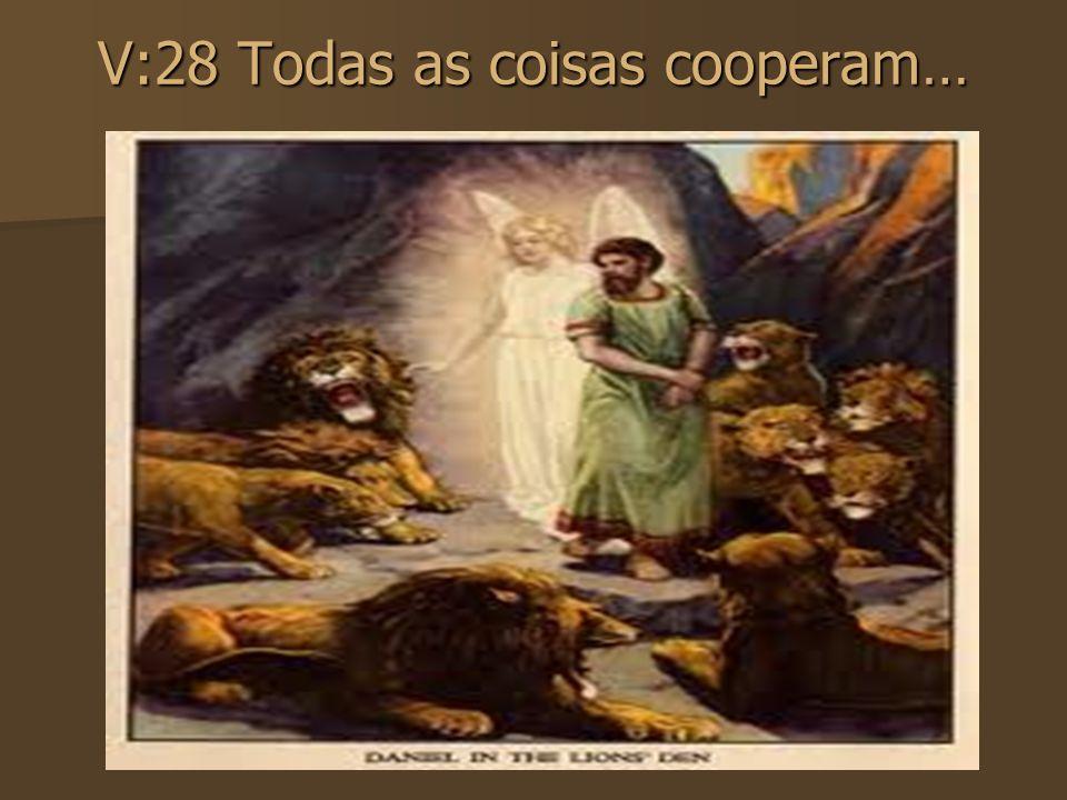 V:28 Todas as coisas cooperam…