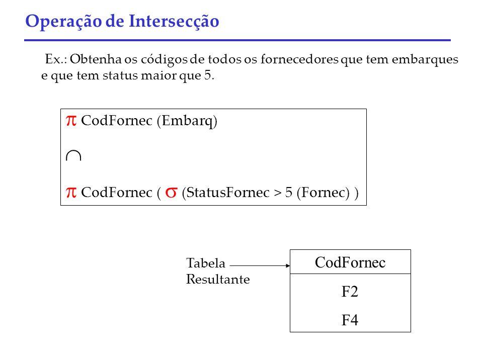  CodFornec (  (StatusFornec > 5 (Fornec) )