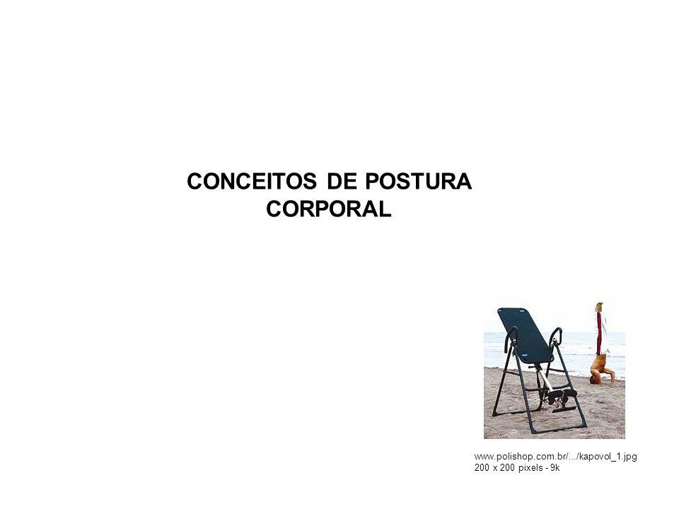 CONCEITOS DE POSTURA CORPORAL