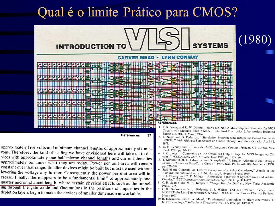 Qual é o limite Prático para CMOS