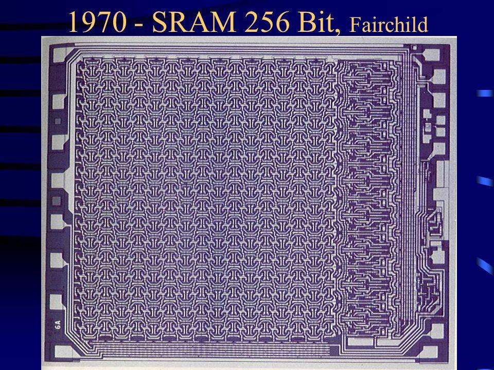 1970 - SRAM 256 Bit, Fairchild