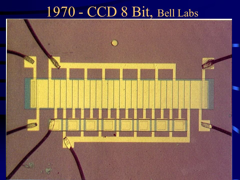 1970 - CCD 8 Bit, Bell Labs