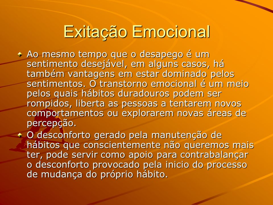 Exitação Emocional