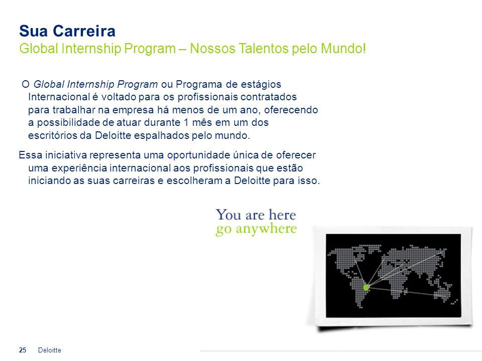Sua Carreira Global Internship Program – Nossos Talentos pelo Mundo!