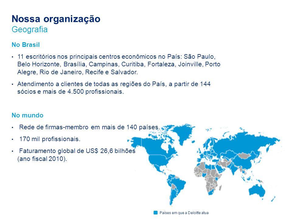 Nossa organização Geografia No Brasil