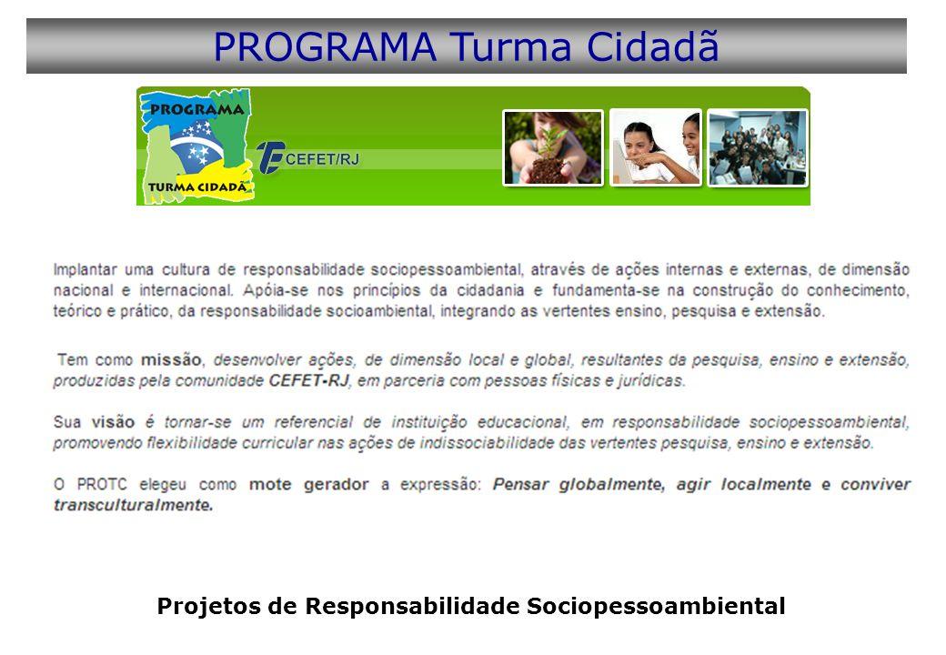 Projetos de Responsabilidade Sociopessoambiental