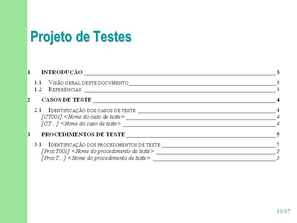 Projeto de Testes