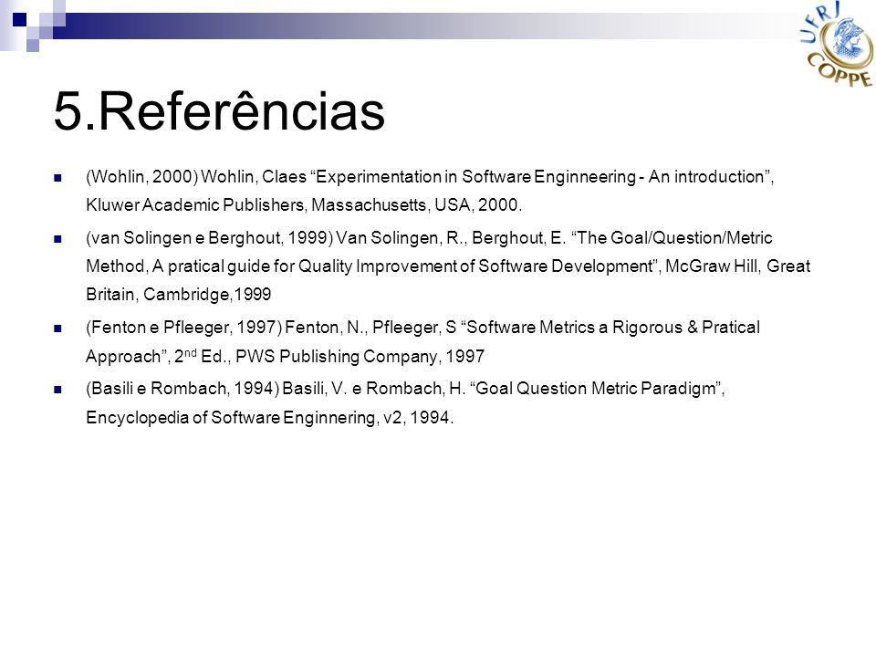 5.Referências