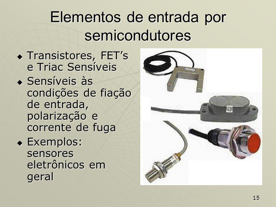 Elementos de entrada por semicondutores