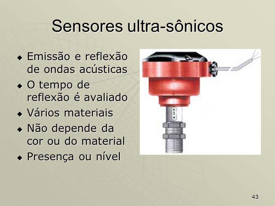 Sensores ultra-sônicos