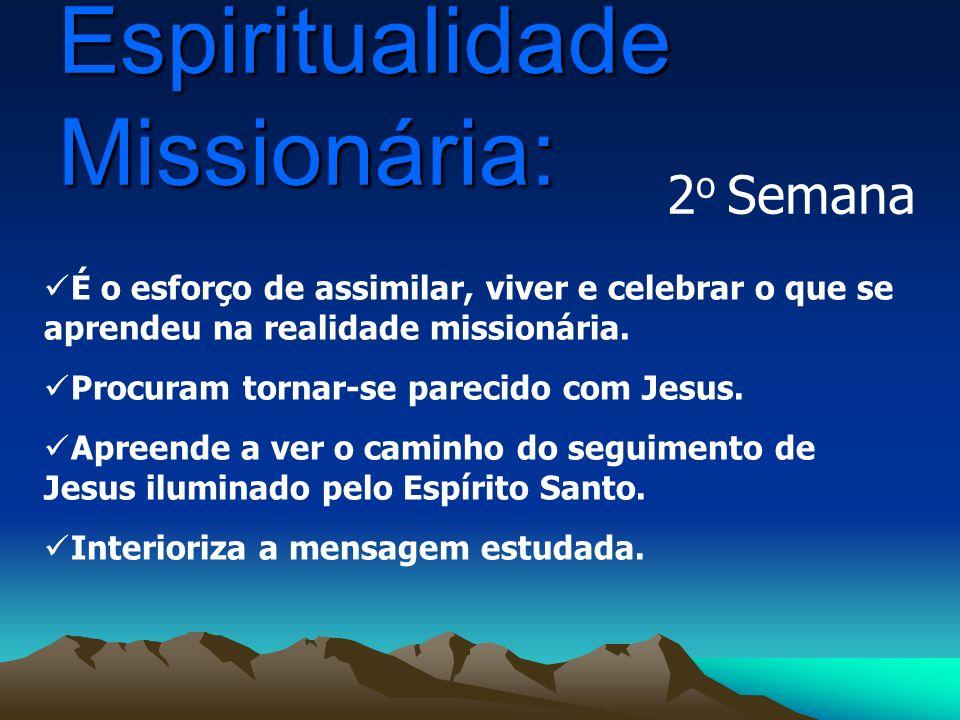 Espiritualidade Missionária: