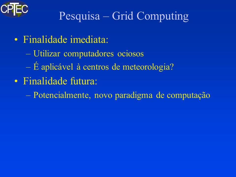 Pesquisa – Grid Computing
