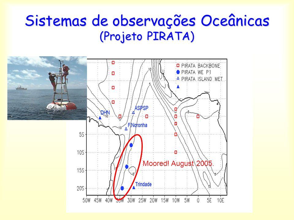 Sistemas de observações Oceânicas (Projeto PIRATA)