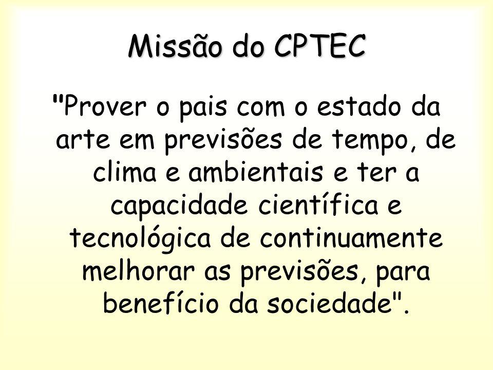 Missão do CPTEC