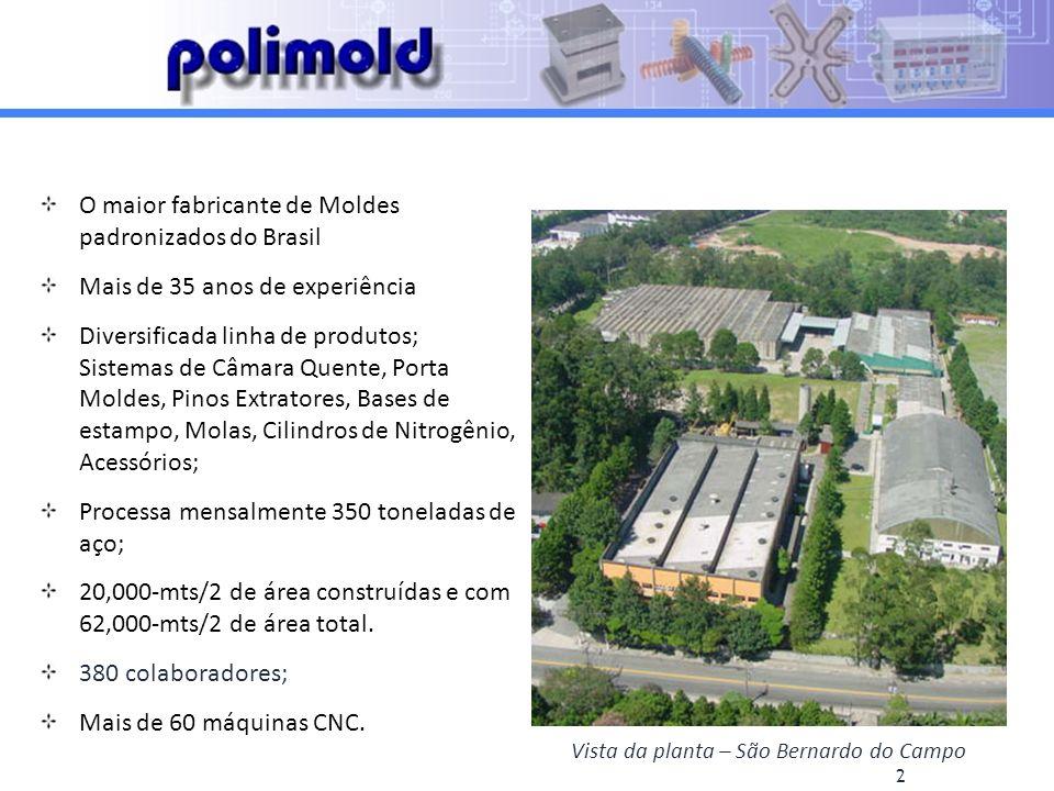 Vista da planta – São Bernardo do Campo