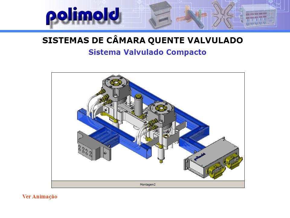 SISTEMAS DE CÂMARA QUENTE VALVULADO Sistema Valvulado Compacto