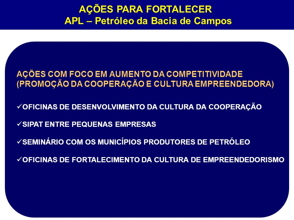 APL – Petróleo da Bacia de Campos