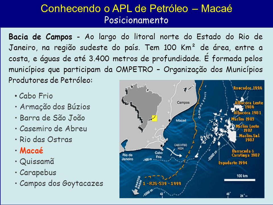 Conhecendo o APL de Petróleo – Macaé