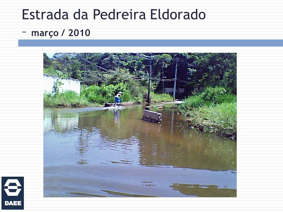 Estrada da Pedreira Eldorado – março / 2010