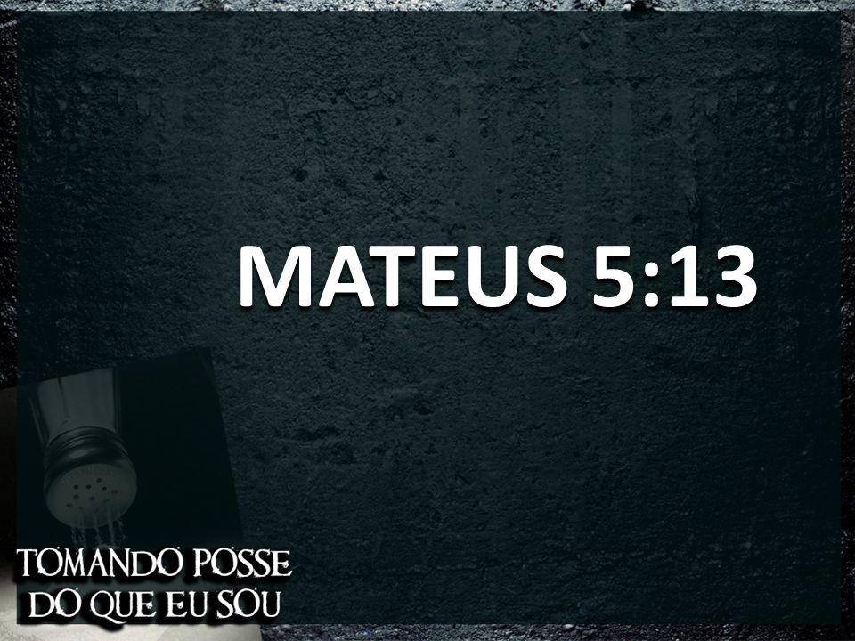 MATEUS 5:13