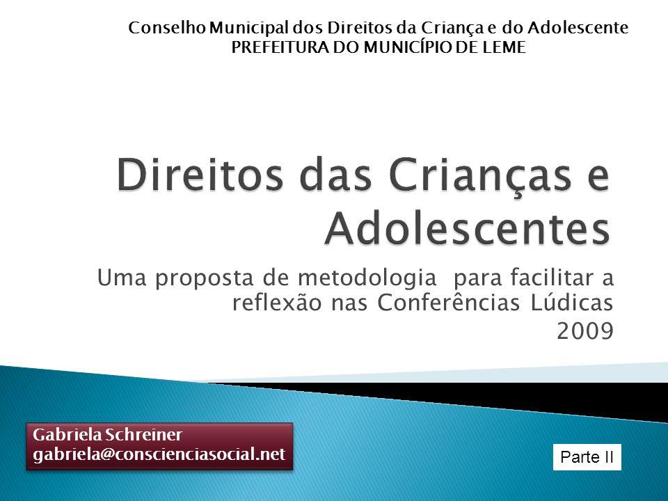 Direitos das Crianças e Adolescentes