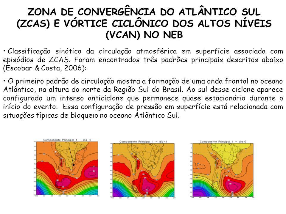 ZONA DE CONVERGÊNCIA DO ATLÂNTICO SUL (ZCAS) E VÓRTICE CICLÔNICO DOS ALTOS NÍVEIS (VCAN) NO NEB