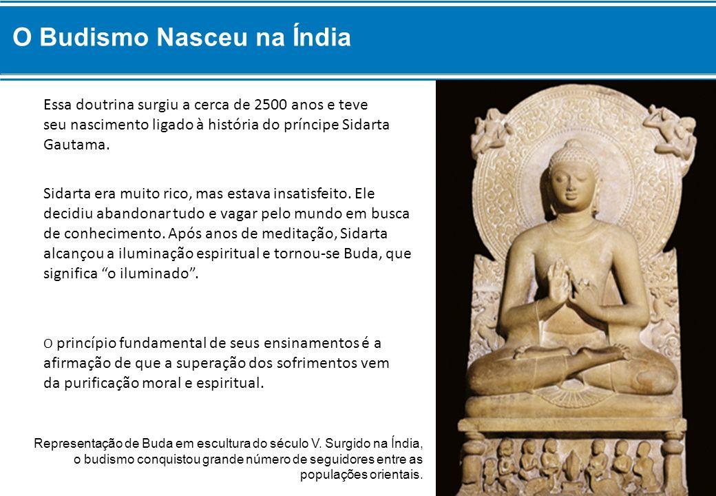 O Budismo Nasceu na Índia