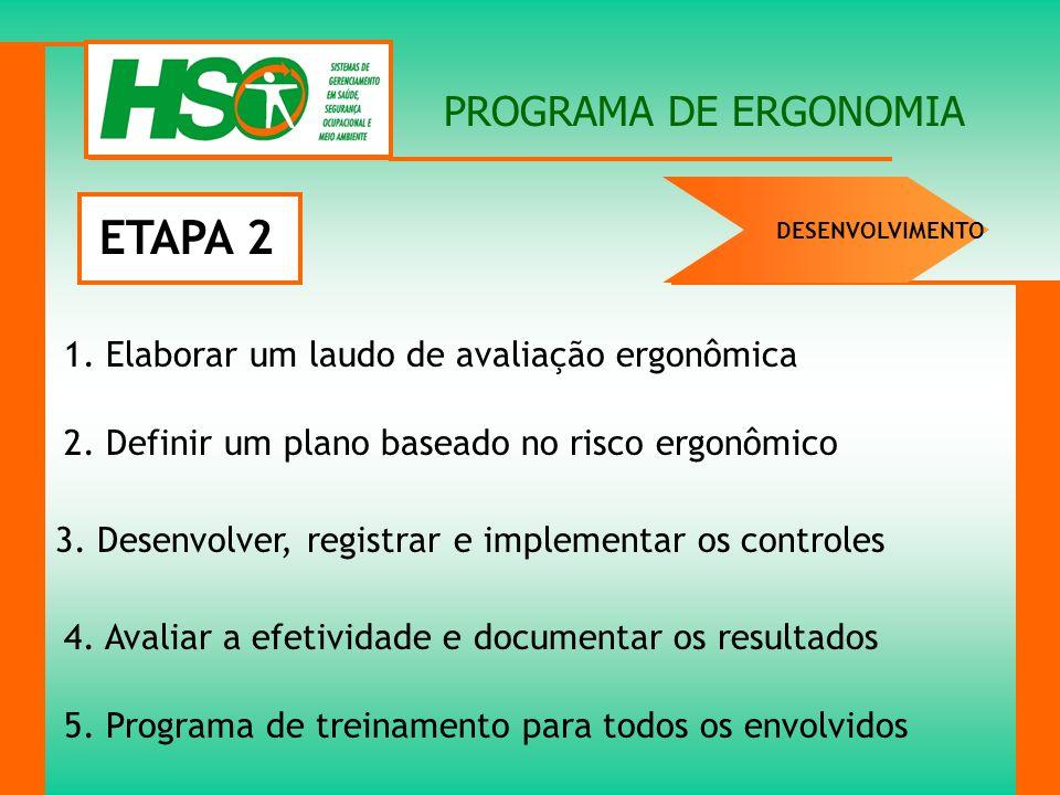 ETAPA 2 PROGRAMA DE ERGONOMIA