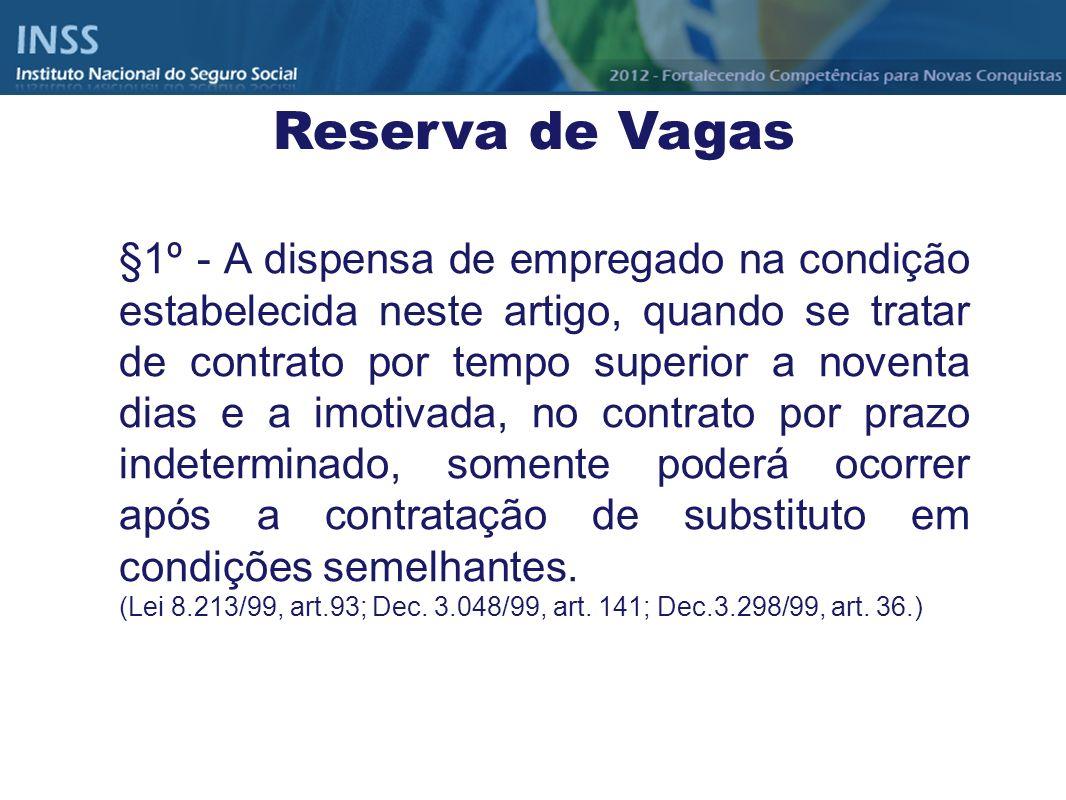 Reserva de Vagas