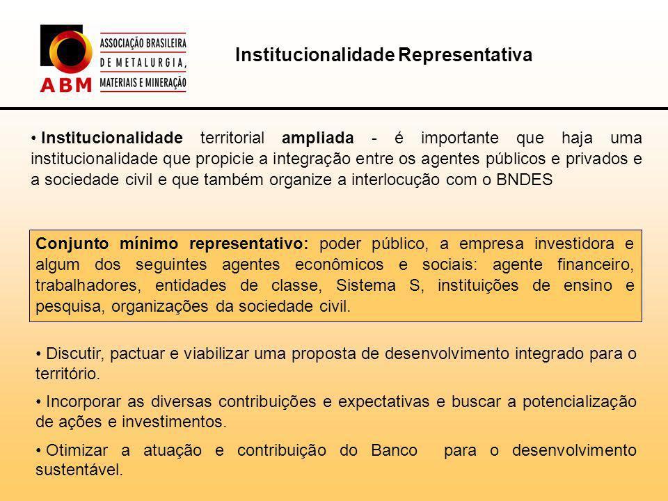 Institucionalidade Representativa