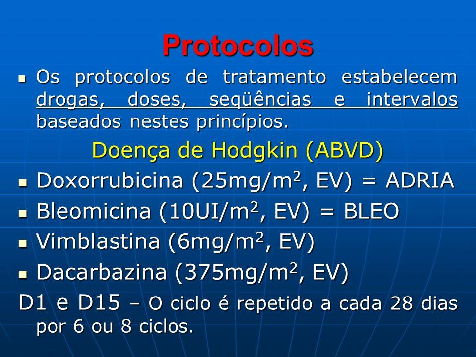 Doença de Hodgkin (ABVD)