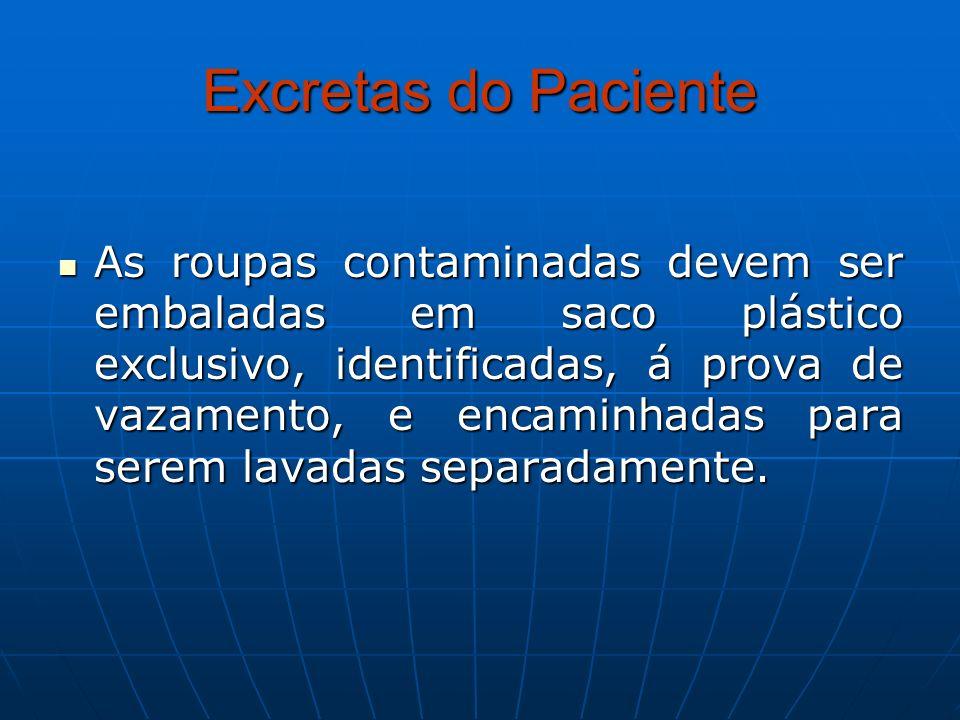 Excretas do Paciente