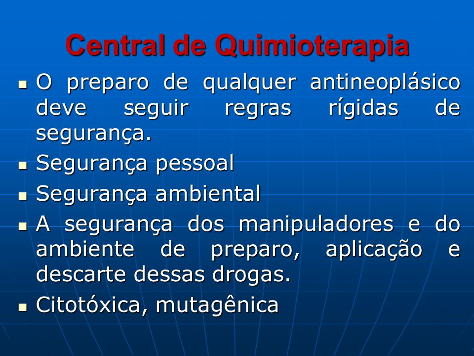 Central de Quimioterapia
