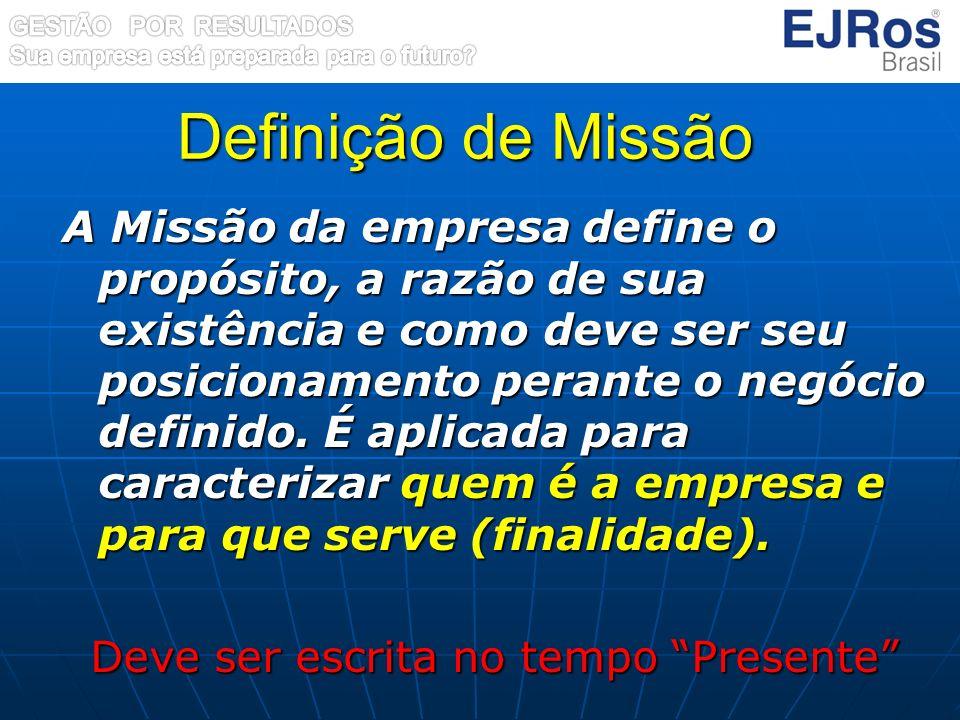 Definição de Missão