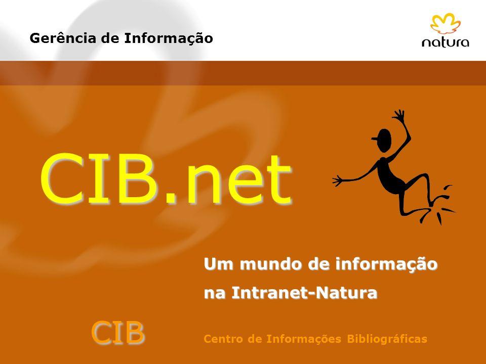 CIB.net CIB Centro de Informações Bibliográficas