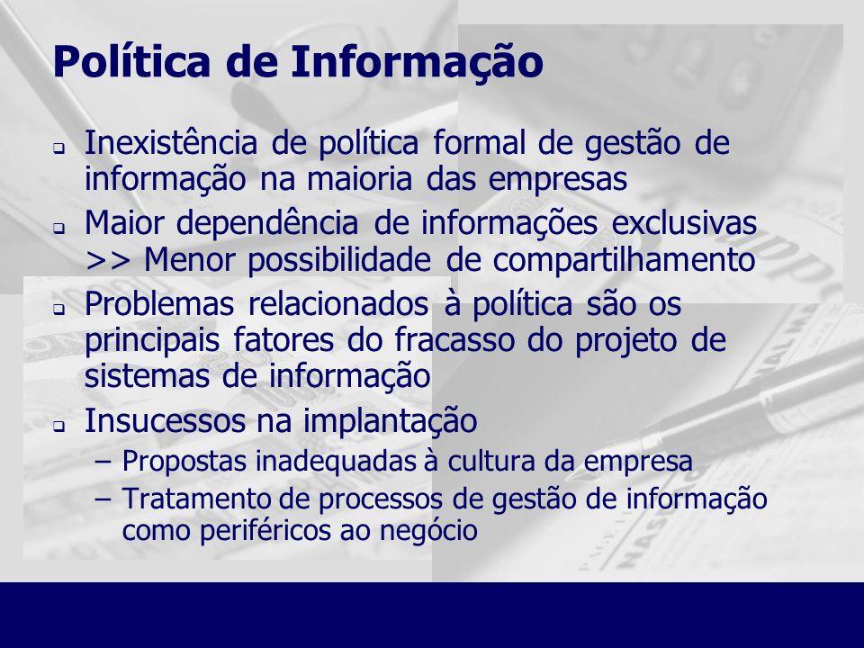 Política de Informação
