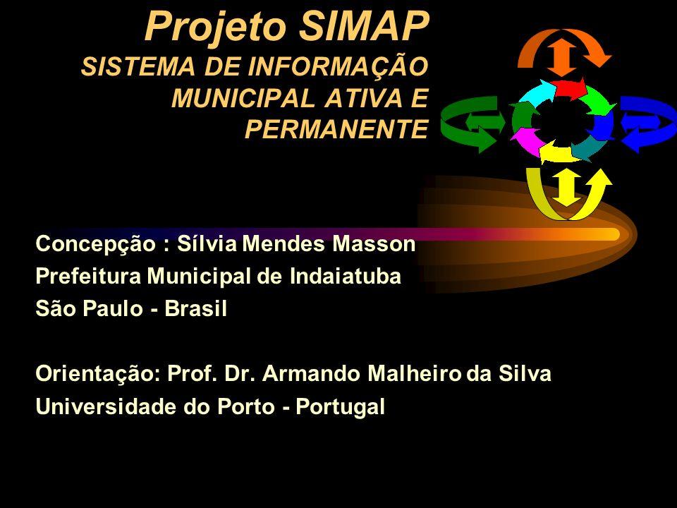 Projeto SIMAP SISTEMA DE INFORMAÇÃO MUNICIPAL ATIVA E PERMANENTE