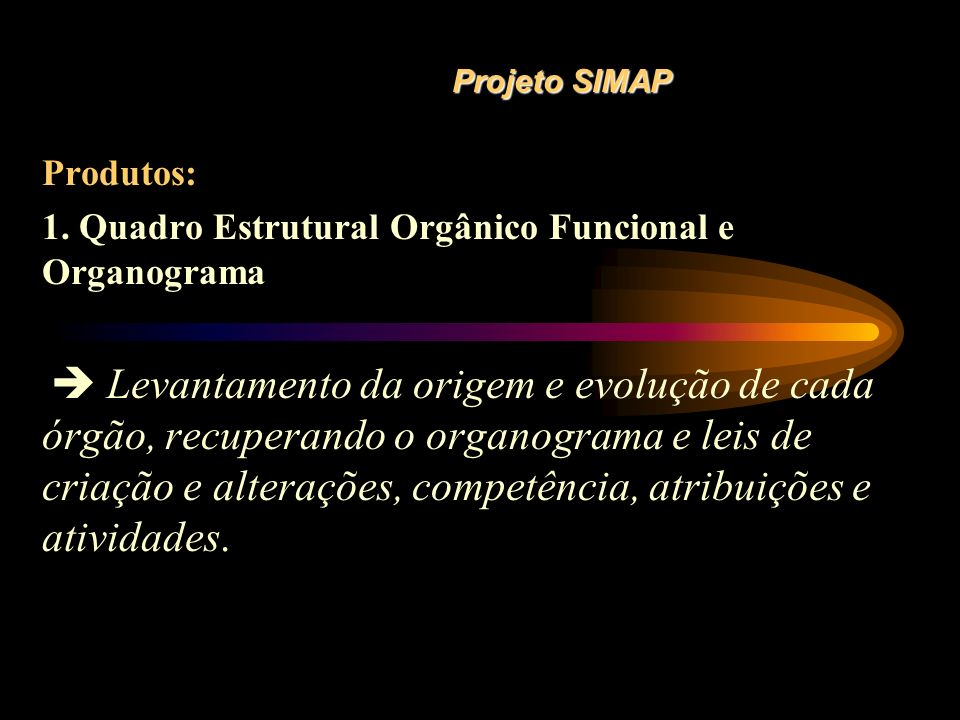 1. Quadro Estrutural Orgânico Funcional e Organograma