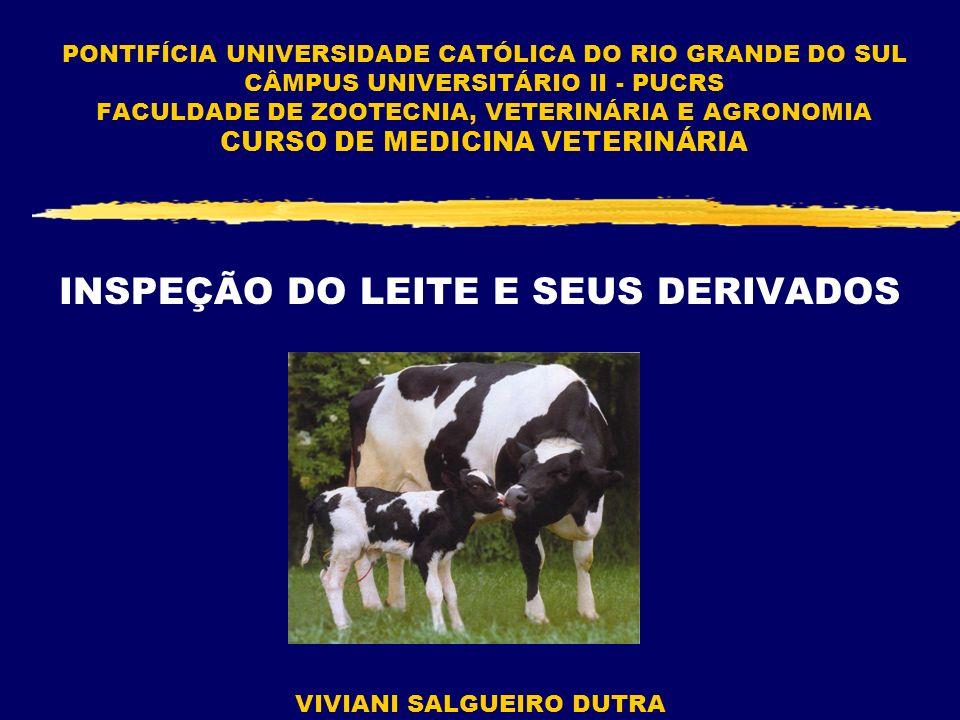 INSPEÇÃO DO LEITE E SEUS DERIVADOS
