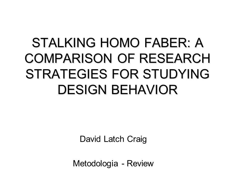 David Latch Craig Metodologia - Review