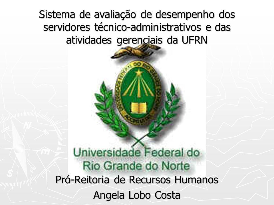 Pró-Reitoria de Recursos Humanos Angela Lobo Costa