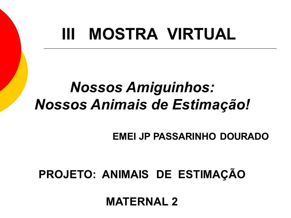 Extremamente Nossos Animais de Estimação! PROJETO: ANIMAIS DE ESTIMAÇÃO - ppt  GU09