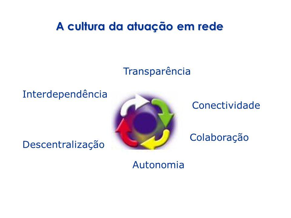 A cultura da atuação em rede