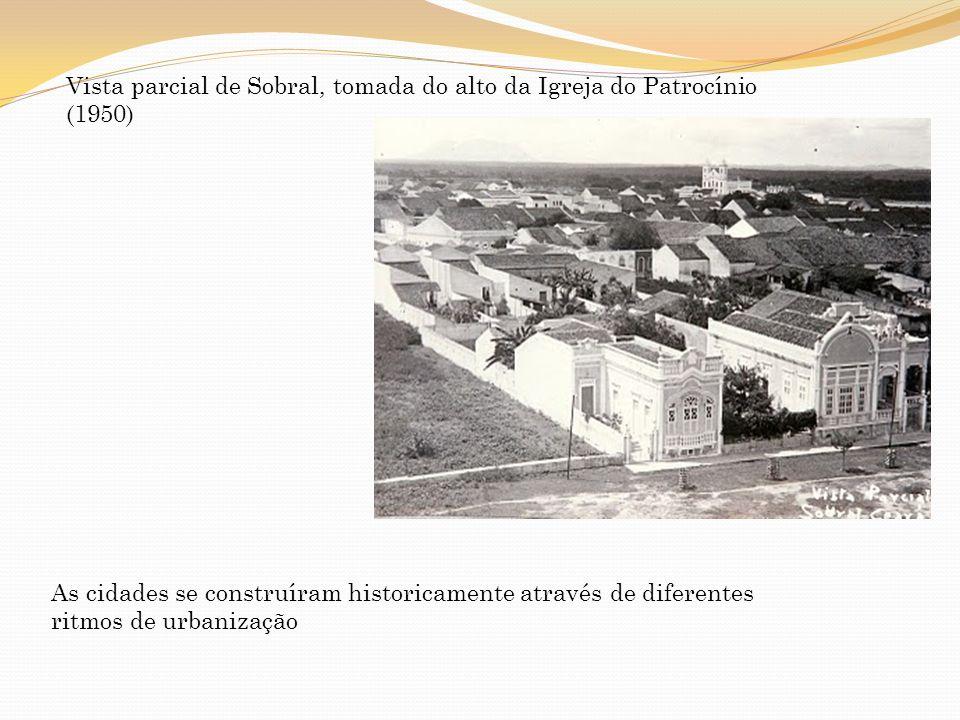 Vista parcial de Sobral, tomada do alto da Igreja do Patrocínio (1950)