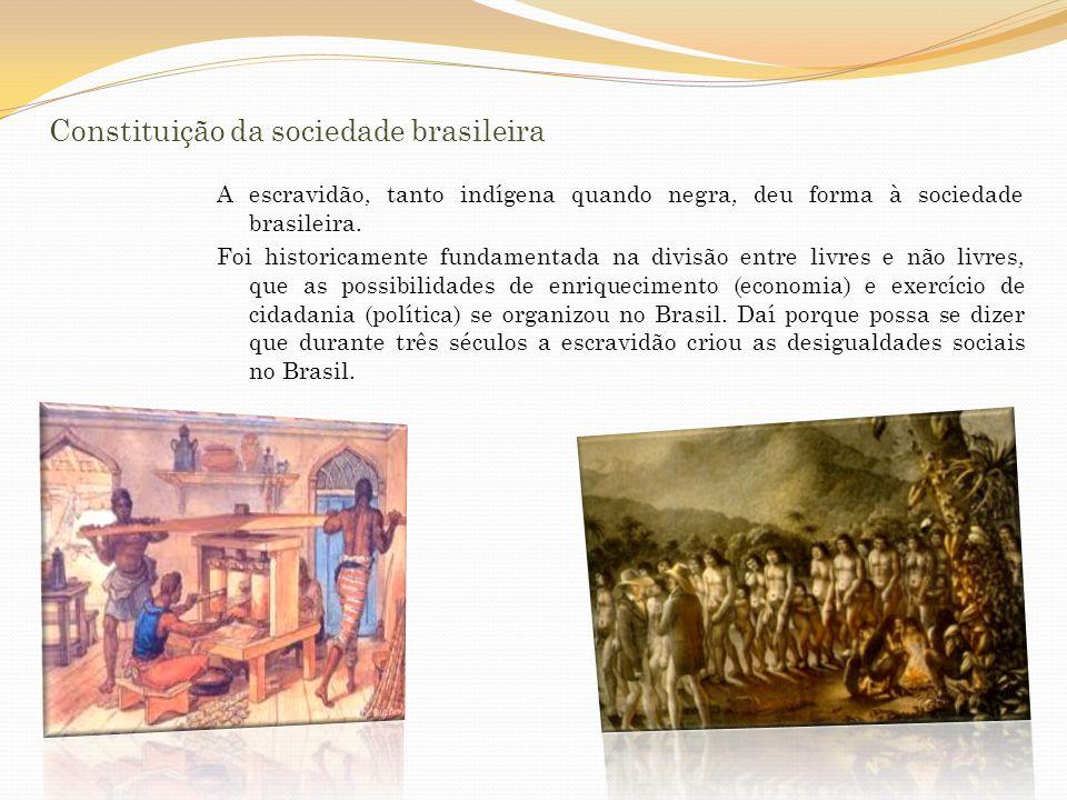 Constituição da sociedade brasileira