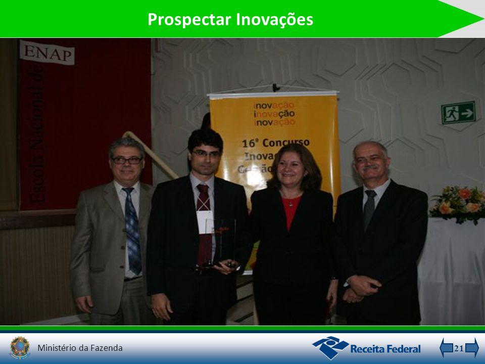 Prospectar Inovações Ministério da Fazenda 21