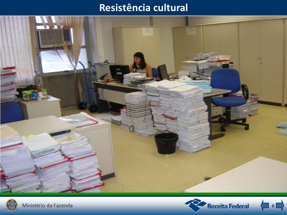 Resistência cultural Ministério da Fazenda 6