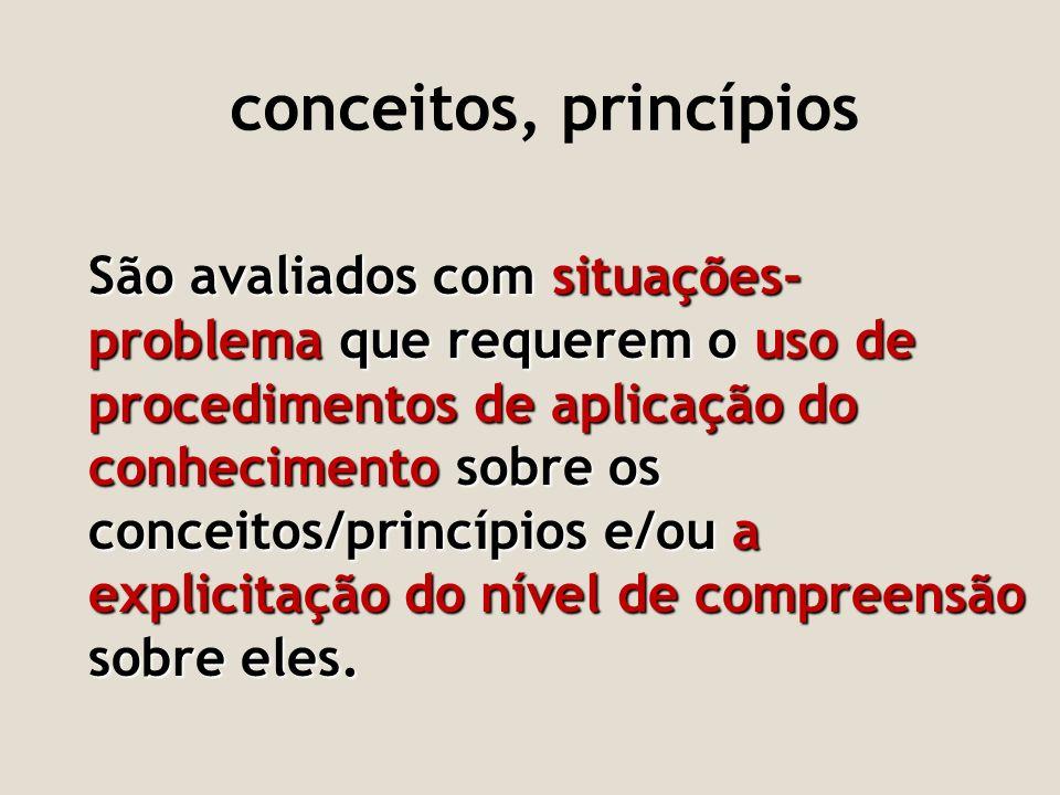 conceitos, princípios